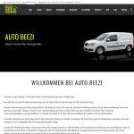 Die neue Website von Auto Beezi geht online